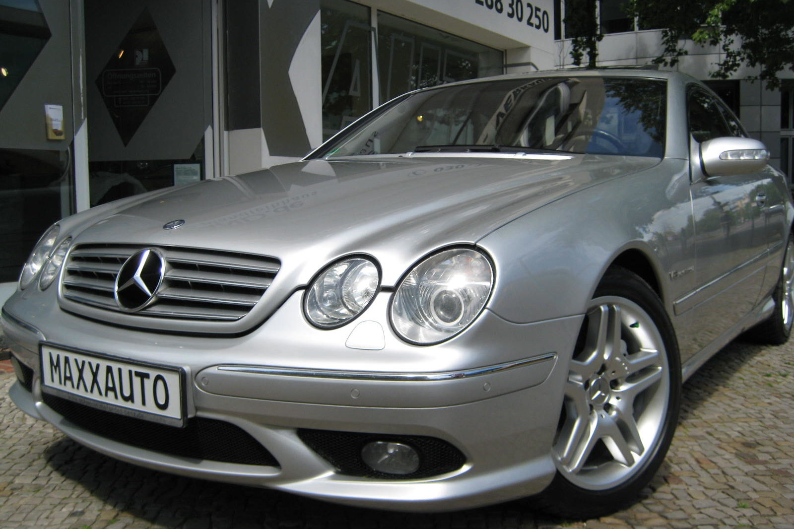 Mercedes CL 55 AMG in silber